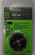 "Greenlee 826-2 2"" Bi-Metal Hole Saws For 1-1/2"" Conduit USA - $6.44"