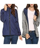 UNibelle Women's Windbreaker Sportswear Women's -Size Splash A Little Ra... - $29.19