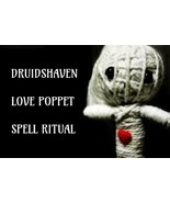 love spell, Wicca poppet magick, voodoo doll, white magic - $29.97