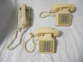 Lot of 3 vintage Landline telephones. - $74.20