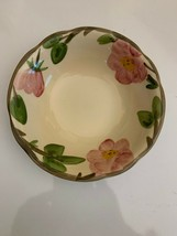 Franciscan Desert Rose Small Bowl Made In England Antique Expensive Mark... - $9.89