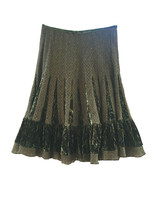 Shadow Skirt By Grace Elements Size 4 MSRP $78.00 New - $12.99