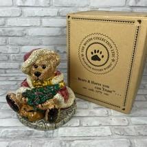 Boyd's Bears Grenville The Santa Bear Cookie Jar No. 3E/2617 In Orig Box... - $39.60