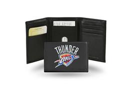 NBA Oklahoma City Thunder Embroidered Tri-Fold / Wallet - $37.23