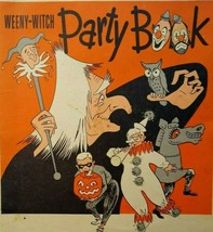 Halloween Party Book Vintage Weeny Witch Original Mask Cutouts Recipes 1952 - $49.50