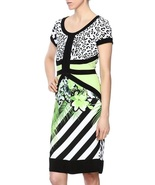 Green Day Collection Jasmine Palm Print Dress by Picadilly - $69.90