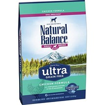Natural Balance Original Ultra Grain Free Small Breed Bites Dog Food, Chicken Fo - $46.97