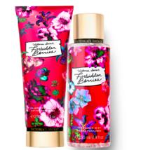 Victoria's Secret Forbidden Berries Fragrance Lotion + Fragrance Mist Du... - $39.95