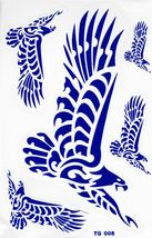 D432 Eagle Wing Bird Sticker Decal Racing Tuning Size 27x18 cm / 10x7 inch - $3.49