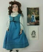 """I.D.M.A. Vintage 1990 Emmeline 12.5"""" Porcelain Doll with Cross Necklace ... - $29.00"""