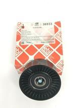 V-Ribbed Belt Deflection Guide Pulley Plastic FEBI For MERCEDES 36933 2712000570 - $16.82