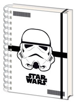 Officially Licensed Star Wars Stormtrooper A5 Notepad Journal Notebook - $10.44