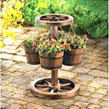 Wagon Wheel Planter - $92.25