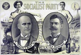 Eugene Debs Ben Hanford Poster Socialist Party Presidential Campaign Ele... - $12.38+