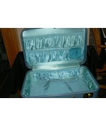 Vintage Travel Toy Aqua Luggage - $24.74