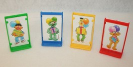Sesame Street Elmo's Birthday Game 4 Replacement Movers Milton Bradley V... - $9.95