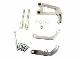 SBC Aluminum Power Steering Bracket Kit, Polished - $48.99
