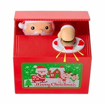 Mansalee Cute Stealing Coin Santa Money Box Money Bank Piggy Bank Coin B... - $13.79