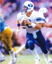 Steve Young 8X10 Photo Brigham Young Cougars Ncaa Football Picture - $3.95