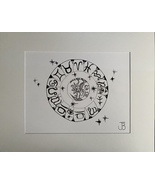 ASTROLOGICAL (XL Gallery Size) - $70.00