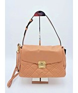 Marc by Marc Jacobs Beige Leather Circle in Square Quilted Shoulder Bag New - $347.99