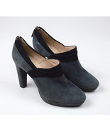 GASTONE LUCIOLI Italy Grayish Blue Suede Leather High Heels Pumps Shoes ... - $22.76