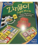 ThinkFun Zingo! Sight Words Essential To Reading Pre -K-1 (Brand New) - $22.31