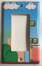 Super Mario Game background Light Switch Outlet Wall Cover Plate Home decor image 4