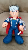 "AVENGERS ASSEMBLE THOR Brand New Licensed Plush Marvel NWT With Tags 14""... - $11.99"
