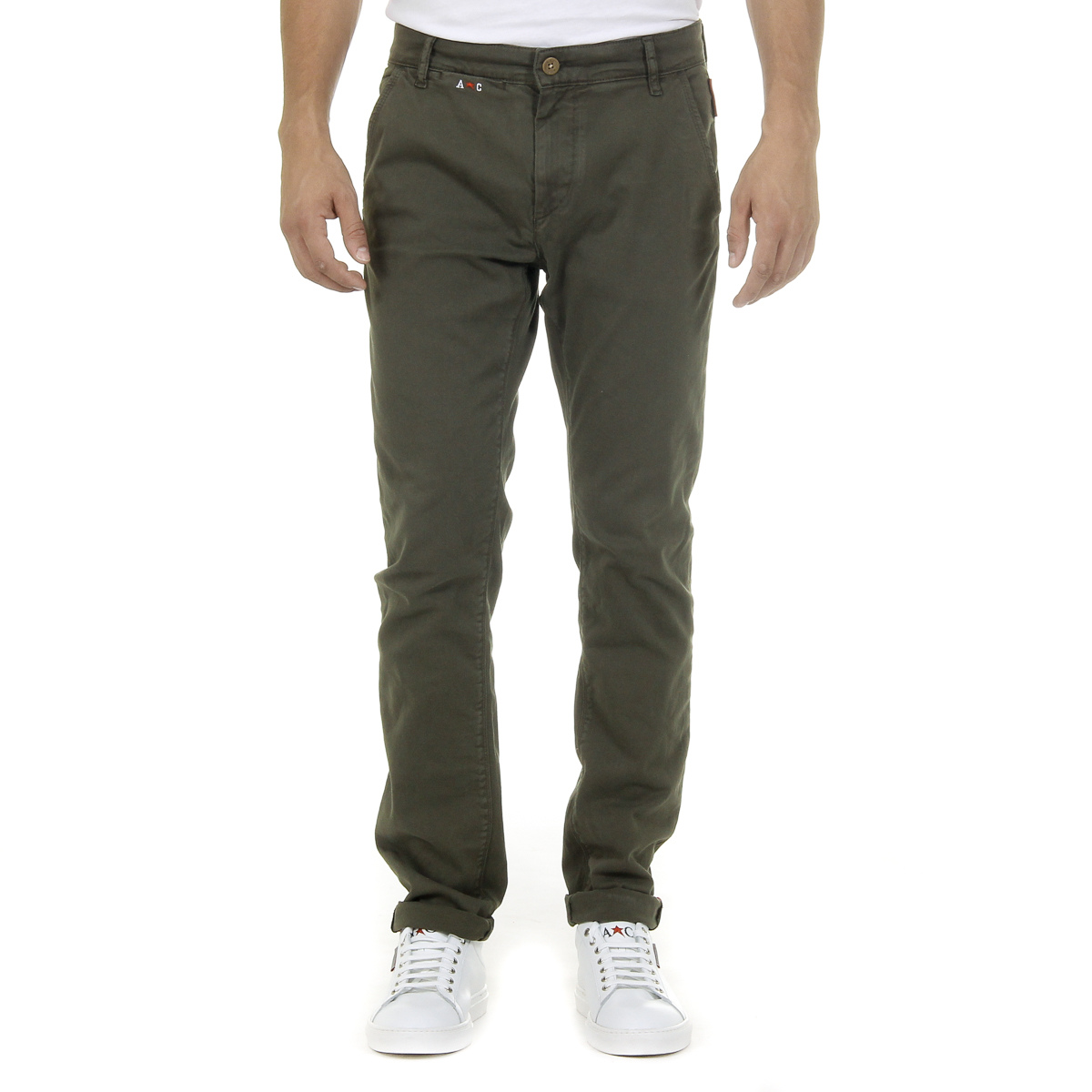 Primary image for Andrew Charles Mens Pants Green AMARA