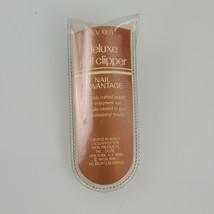 Vintage 1990 Avon Deluxe Nail Clipper Advantage NEW - $19.79
