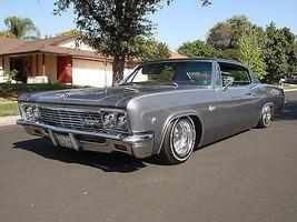 1966 Chevy Impala grey   24 x 36 INCH   sports car - $18.99