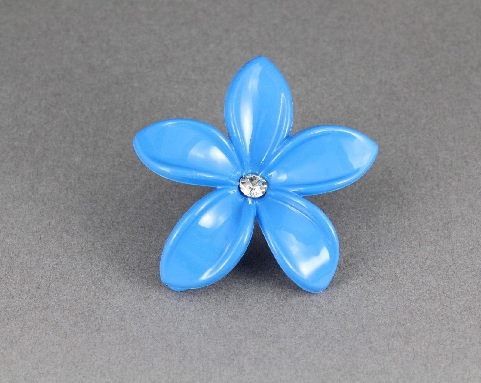 Aqua plumeria hair clip hawaiian flower and 50 similar items aqua plumeria hair clip hawaiian flower barrette alligator claw clamp izmirmasajfo