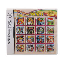 Nintendo Video Game Cartridge Console Card 500 IN 1 USA English Language... - $56.15