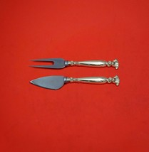 Romance of the Sea by Wallace Sterling Silver Hard Cheese Serving Set Custom  - $149.00