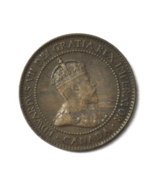 1904 1c Canada Large One Cent Penny KM#8  Bronze  - $9.89