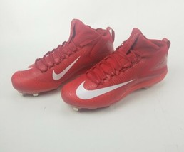 Nike Force Zoom Trout 3 sz 13 Metal Baseball Cleat 856503 667 Red White ... - $38.14