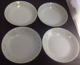 "Crown Ming SPRING GARDEN Set of 4 - 7 1/2"" Soup Bowls - $11.65"