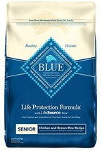 Blue Buffalo Life Protection Formula Senior Dog Food – Natural Dry Dog F... - $64.38