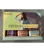 Masglo Nail Polish Set Esmaltes Fotocromáticos - Changes Color New - $24.70