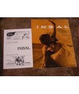 Inbal Movie Program & Handbill Lot Dance Theatre Of Israel - $14.99