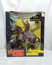Planet of the Apes Hasbro THADE w/ HORSE & BATTLE STEED Action Figure 20... - $20.19