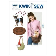 Kwik Sew K3517 Harness Sewing Pattern, Leash - $15.68
