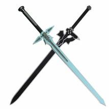 Sword Art Online Cosplay Kirito Sword Weapons Props Sao Rubber Elucidato... - $33.58