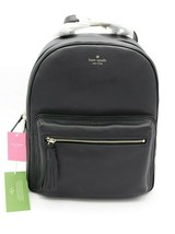 NWT Kate Spade New York Chester Street Aveline Black Leather Backpack Ba... - $198.00