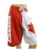 Canada Canadian Flag Men's Board Shorts Swim Trunks - $29.95+