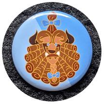 Beauty and the Beast Disney Pinback Button: Dapper Beast - $2.90