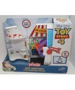 Toy Story 4 Minis Buzz Lightyear's Star Adventurer Playset Figure Storag... - $32.62