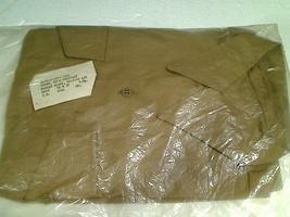 Factory Sealed New US Army Men's Khaki Cotton/Polyester Poplin Shirt 15x31 - $10.00