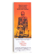 THE WICKER MAN MOVIE POSTER MAGNET 1.5 X 4.5 INCHES CHRISTOPHER LEE BRIT... - $9.99